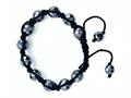 Adjustable Genuine Hematite hread Bracelet