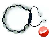 Adjustable Genuine New Jade Gemstone Thread Bracelet style: AM30553NJ