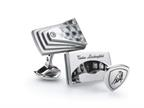 Tonino Lamborghini Stainless Steel Cufflinks with Carbon Fiber Style number: TCL006000