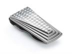 Tonino Lamborghini Motore Collection Stainless Steel Money Clip with Carbon Fiber Style number: TMC006000