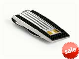 Tonino Lamborghini Corsa Collection Stainless Steel Money Clip style: TMC005022