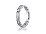 Benchmark® 3mm Round Diamonds Eternity Band