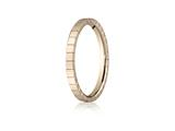 Benchmark® 2mm High Polished Carved Design Band style: 6290118KR