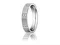 Benchmark 4mm Comfort Fit Diamond Wedding Band / Ring