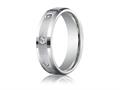 Benchmark 6mm Round 0.32 cttw Diamonds Mens Band