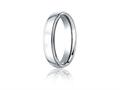 Benchmark® Cobalt Chrome™ 5mm Comfort-fit High Polished Design Ring
