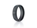 Benchmark® Ceramic 7mm Comfort-fit High Polished Design Ring