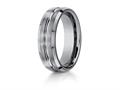 Benchmark® 7mm Comfort Fit Tungsten Carbide Wedding Band / Ring