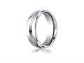 Benchmark® Cobalt Chrome™ 7.5mm Comfort-fit Satin-finished Design Ring