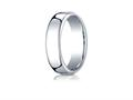 Benchmark Cobalt Chrome 6.5mm European Comfort-fit Design Ring