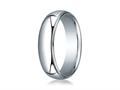 Benchmark® 10k Gold 6mm Slightly Domed Standard Comfort-fit Ring With Milgrain