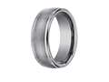 Benchmark® 8mm Comfort Fit Tungsten Carbide Wedding Band / Ring