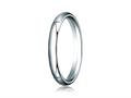Benchmark 14k Gold 3.0mm Slightly Domed Super Light Comfort-fit Wedding Band / Ring