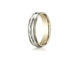 Benchmark® 6mm Comfort Fit Design Wedding Band / Ring style: CF156411