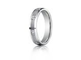 Benchmark 4mm 0.32 cttw Diamonds Wedding Band / Ring