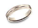 Benchmark® 4mm Comfort Fit Wedding Band / Ring style: CF6441114KR