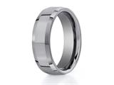Benchmark® 7mm Comfort Fit Tungsten Carbide Wedding Band / Ring style: CF67426TG