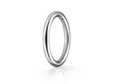 Benchmark® 2.5mm Comfort-fit High Polished Round Carved Design Band