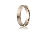 Benchmark® 4.5mm Comfort-fit Satin-finished Rivet Coin Edging Carved Design Band style: CF71452518KR