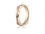 Benchmark 3.5mm Comfort-fit Satin-finished Four-sided Carved Design Band