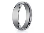 Benchmark 6mm Comfort Fit Tungsten Carbide Wedding Band / Ring Style number: CF160TG