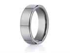 Benchmark 7mm Comfort Fit Tungsten Carbide Wedding Band / Ring Style number: CF270TG