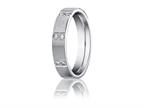 Benchmark 4mm Comfort Fit Diamond Wedding Band / Ring Style number: CF524713