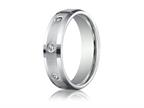 Benchmark 6mm Round 0.32 cttw Diamonds Mens Band Style number: CF526132