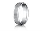 Benchmark 6mm Comfort Fit Wedding Band / Ring Style number: CF6641610K