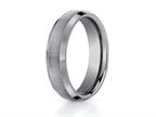 Benchmark 6mm Comfort Fit Tungsten Carbide Wedding Band / Ring Style number: CF66416TG