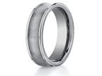 Benchmark 7mm Comfort Fit Tungsten Carbide Wedding Band / Ring Style number: CF67001TG