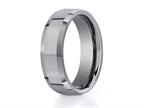 Benchmark 7mm Comfort Fit Tungsten Carbide Wedding Band / Ring Style number: CF67426TG