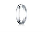 Benchmark Cobalt Chrome 4.5mm European Comfort-fit Design Ring Style number: EUCF145CC