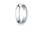 Benchmark Platinum 5.5mm European Comfort-fit Ring Style number: PTEUCF155P