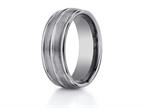 Benchmark 8mm Comfort Fit Tungsten Carbide Wedding Band / Ring Style number: RECF58180TG