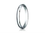 Benchmark 14k Gold 3.0mm Slightly Domed Super Light Comfort-fit Wedding Band / Ring Style number: SLCF130
