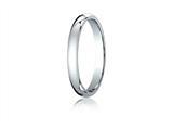 Benchmark® 18k Gold 3mm Slightly Domed Standard Comfort-fit Ring style: LCF13018K