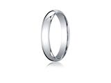 Benchmark® Palladium 4mm Slightly Domed Standard Comfort-fit Ring style: LCF140PD