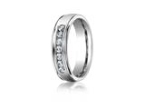 Benchmark® 6mm Comfort Fit Diamond Wedding Band / Ring