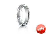 Benchmark® 4mm 0.32 cttw Diamonds Wedding Band / Ring