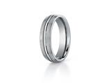 Benchmark® 6mm Comfort Fit Titanium Wedding Band / Ring style: TI560