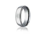 Benchmark® 7mm Comfort Fit Titanium Wedding Band / Ring style: TI570