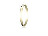 Benchmark® 14k Gold 2.0mm Traditional Dome Oval Ring