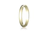 Benchmark® 14k Gold 3.0mm Traditional Dome Oval Ring