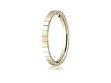 Benchmark 2mm High Polished Carved Design Band
