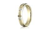 Benchmark® 4mm 0.32 cttw Diamonds Wedding Band / Ring style: CF524132