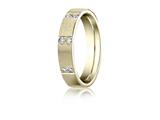 Benchmark® 4mm Comfort Fit Diamond Wedding Band / Ring style: CF524713