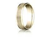 Benchmark® 6mm Comfort Fit Wedding Band / Ring style: CF6641610K