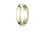 Benchmark® 5.5mm Euro Comfort Fit Wedding Band / Ring