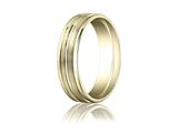Benchmark® 6mm Comfort Fit Wedding Band / Ring style: RECF5618010K